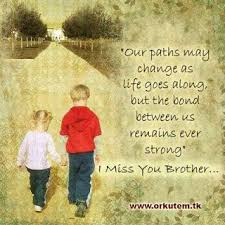 miss you brother quotes   Memoirs of Me: Sending my love   Sister ... via Relatably.com