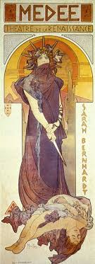 best images about medea amor the bull and alphonse mucha s medea