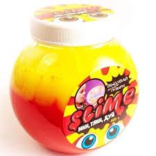 <b>Слайм</b> TM <b>Slime Mega Mix</b> Желтый клубничный 500 гр S500-2 ...