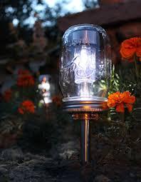 a 379 garden path solar light gets a vintage makeover when covered with a jelly jar ball mason jar solar lights
