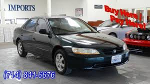 2000 Honda Accord SE For Sale In Huntington Beach   Cars.com