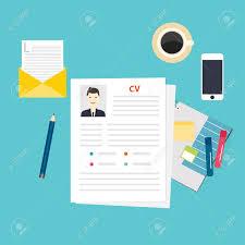 cv resume job interview concept writing a resume royalty cv resume job interview concept writing a resume stock vector 46550705