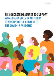 Six concrete measures to <b>support women</b> and girls in all their ...