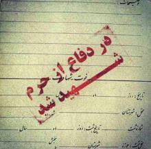 نتیجه تصویری برای شهدای مدافع حرم آغاجاری