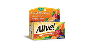 Nature's Way, <b>Alive</b>, <b>Daily Energy</b>, 60 Tablets: Buy Online at Best ...