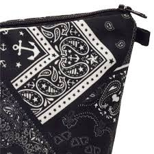 Who Cares Fashion printing Black amoeba <b>Makeup Bags</b> Cosmetic ...