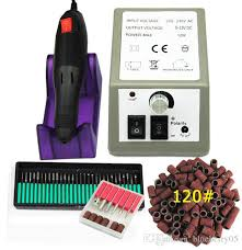 <b>Electric Nail Drill</b> Manicure <b>Machine</b> Set Cutter <b>Apparatus</b> For ...