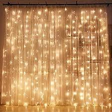 Twinkle Star 300 LED Window Curtain String Light ... - Amazon.com