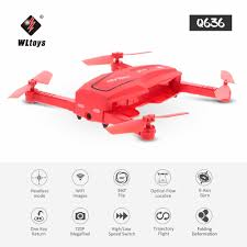 WLtoys Q636 720P Wifi FPV Folding Drone Optical Flow Positioning ...