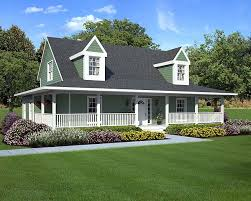 House Plans Wrap Around Porch   Smalltowndjs com    Inspiring House Plans Wrap Around Porch   House Plans With Wrap Around Porches Created By
