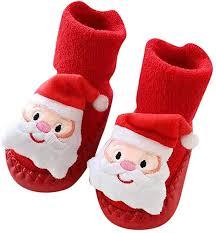 LuckyBB Christmas <b>Newborn Baby</b> Step <b>Socks</b>, Xmas <b>Boys Girls</b> ...