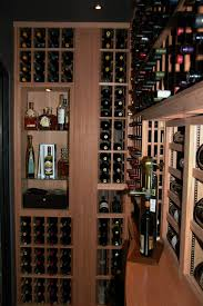 wine racks in the gilliland wine cellar awesome portable wine cellar