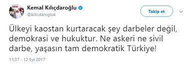 Kılıçdaroğlu'ndan 12 Eylül darbesi paylaşımı