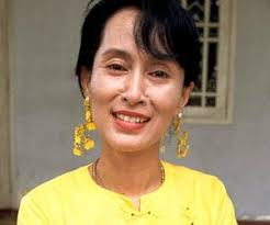 Aung San Suu Kyi (pronounced as Ong San Soo Chee) is the leading face of the pro-democracy movement and a leader of the National League for Democracy in ... - 64b63d4b53aece3df4a81c0f4ccad0e2