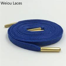 <b>Weiou Close Mouth</b> Gold Metal Aglets Bright Colored Waxed Dress ...