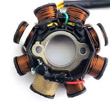 <b>Magneto Stator</b> Ignition <b>Generator</b> 8 Poles Coils For GY6 <b>Motorcycle</b> ...