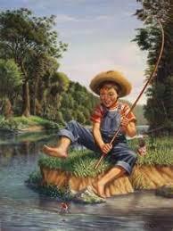 Image result for image catfish fishing boy