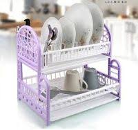 Foldable Dish Drip Rack Plate <b>Organizer</b> Cup Drainer Kitchen ...