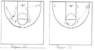 elizabethtown college   flex offense  article    the basketball    diagram   amp