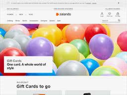 Zalando | Gift Card Balance Check | Balance Enquiry, Links ...