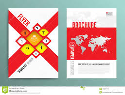 brochure flyer graphic design layout template stock illustration vector brochure flyer design layout template in a4 size royalty stock images