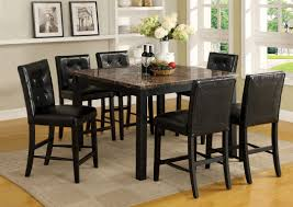 Marble Dining Room Sets Solid Walnut Round Dining Table Distressed White Finish Carrara