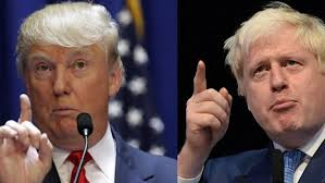 Image result for boris johnson trump