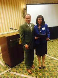 palm beach county bar association workers compensation committee mike celeste presenting the kennie edwards award to judge d ambrosio