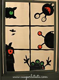 love halloween window decor: decori per finestre ad halloween halloween window decorations