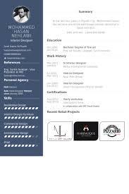 interior designer resume samples   visualcv resume samples databasesr interior designer resume samples