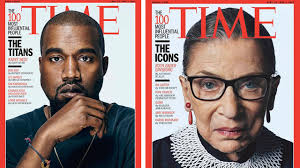 kanye west emma watson make time most influential people of time s 100 most influential people list includes kanye west emma watson