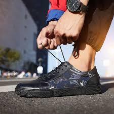 BIMUDUIYU New Brand Leather Casual <b>Shoes Men</b> Lace Up ...