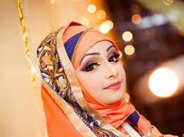 salon 8 best bridal wedding hair new orleans sadiya moyeen makeover of a beautiful deshi bride in hijab