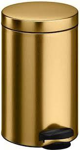 """<b>Ведро для мусора</b> """"<b>Meliconi</b>"""", цвет: золотой металлик, 14 л. 6902 ..."""