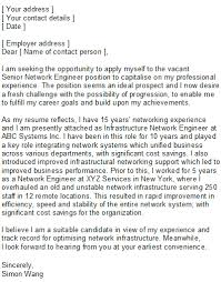 network engineering covering letter samplesample network engineer covering letter