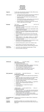 resume samples from the right resume registered nurse resume