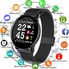 <b>Smart Watch</b> Men Blood Pressure <b>Waterproof Smartwatch</b> Women ...