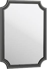 Купить <b>Зеркало 72х95 см</b> черный матовый Aqwella 5 Stars ...