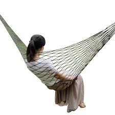 Portable Garden <b>Nylon</b> Hammock swingHang <b>Mesh</b> Net Sleeping ...