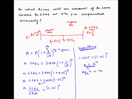 compound interest example 7 calculate time period compound interest example 7 calculate time period