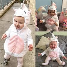 Hot Toddler Newborn Cute Unicorn <b>Baby Girls Fleece Romper</b> ...