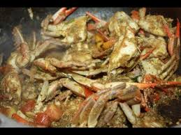 Caribbean <b>Curry Crab</b> Recipe. - YouTube