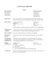 resume layout resume cv 9 resume layout 9