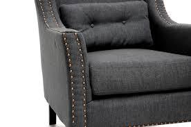baxton studio albany dark gray linen modern lounge chair iebh 63709 grey baxton studio lounge chair