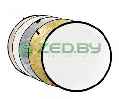 <b>Светоотражатель Fujimi 110cm FJ-702</b> 5-in-1 White/Gold/Silver ...