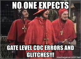 <b>No One Expects</b> Gate Level CDC Verification and Glitch Detection ...