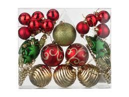 <b>Украшение Lefard Набор</b> шаров Сказочное Рождество 42шт 858 ...