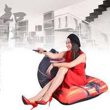 Online Shop <b>LEVMOON Beanbag Sofa</b> Chair Shell Dragon Seat Zac ...