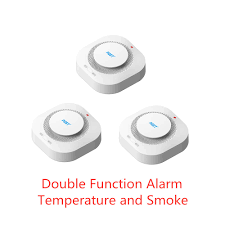 PGST <b>5pcs</b>/lot 433MHz Wireless <b>Fire</b> Sensor <b>Smoke Detector</b> For ...