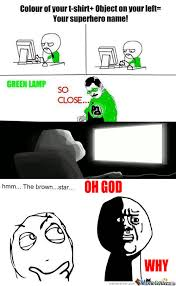 RMX] Green Lamp...so Close by celinacupcake - Meme Center via Relatably.com